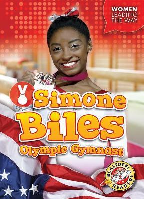 Simone Biles Olympic Gymnast by Kate Moening