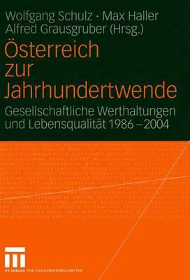 Osterreich zur Jahrhundertwende by Wolfgang Schulz