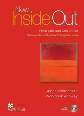 New Inside Out Upper-Intermediate Workbook Pack with Key by Sue Kay