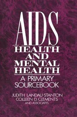 AIDS, Health, and Mental Health book