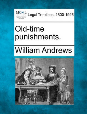 Old-Time Punishments. book