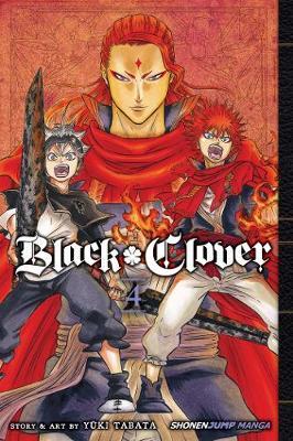 Black Clover, Vol. 4 book