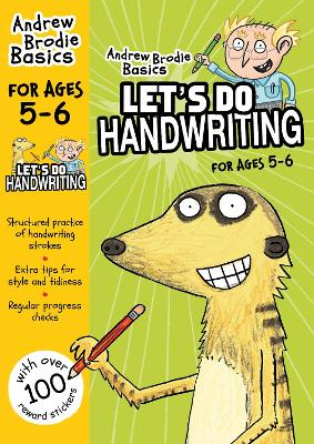 Let's do Handwriting 5-6 by Andrew Brodie