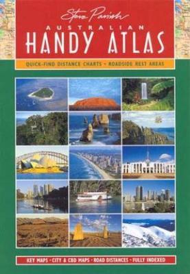 Australian Handy Atlas by Steve Parish Publishing