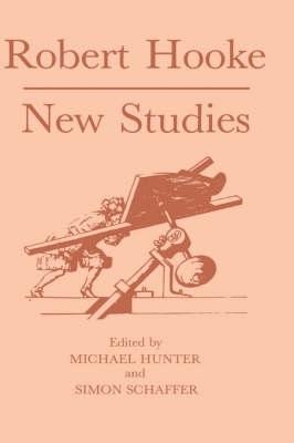 Robert Hooke by Michael Hunter