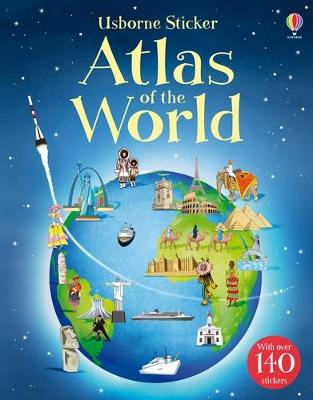 Sticker Atlas of the World by