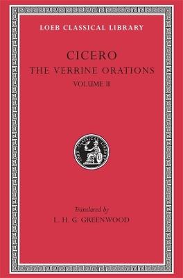 The Verrine Orations  v. 2 by Marcus Tullius Cicero