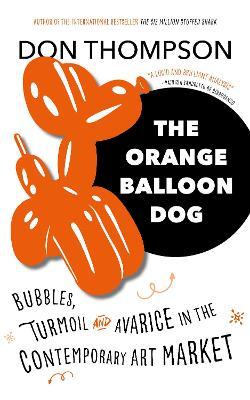 Orange Balloon Dog book