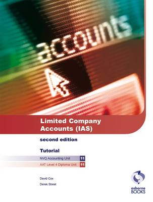 Limited Company Accounts (IAS) Tutorial by David Cox