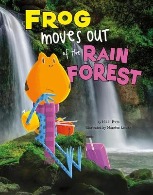 Frog Moves Out of the Rain Forest book
