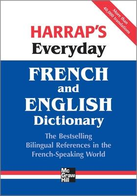 Harrap's Everyday French and English Dictionary book
