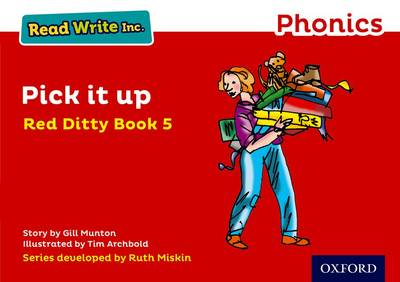 Read Write Inc. Phonics: Red Ditty Book 5 Pick It Up book
