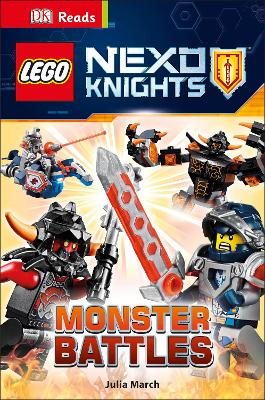 LEGO (R) NEXO KNIGHTS Monster Battles by Julia March