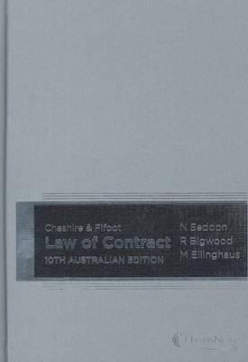 Cheshire & Fifoot Law of Contract, 10th Australian Edition by M.P. Ellinghaus