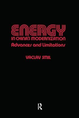 Energy in China's Modernization by Vaclav Smil