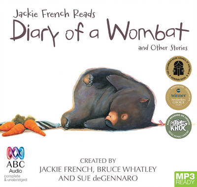 Jackie French Reads: Diary Of A Wombat And Other Stories by Jackie French