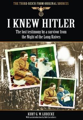 I Knew Hitler book