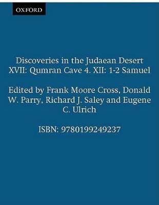 Discoveries in the Judaean Desert XVII by Frank Moore Cross