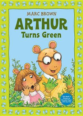 Arthur Turns Green book