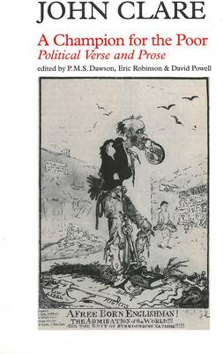 Champion of the Poor by John Clare
