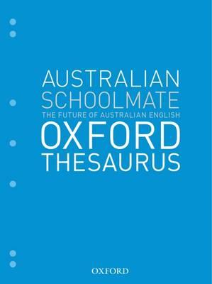 Australian Schoolmate Oxford Thesaurus book