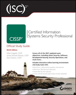 (ISC)2 CISSP Certified Information Systems Security Professional Official Study Guide by Mike Chapple