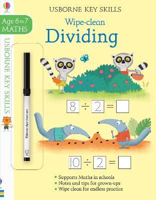 Wipe-clean Dividing 6-7 book