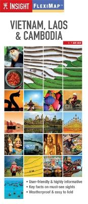 Insight Guides Flexi Map Vietnam, Cambodia and Laos by Insight Guides