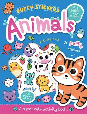 Puffy Sticker Animals by Connie Isaacs