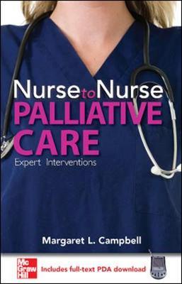 Nurse to Nurse Palliative Care book
