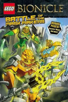 Lego Bionicle: Battle of the Mask Makers (Graphic Novel #2) by Ryder Windham