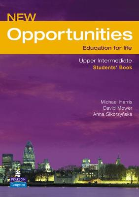 Opportunities Opportunities Global Upper-Intermediate Students' Book NE Global Upper-intermediate Student's Book by Michael Harris
