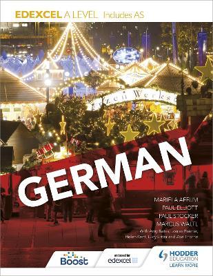 Edexcel A level German (includes AS) book