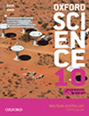 Oxford Science 10 Western Australian Curriculum Student book + obook assess by Helen Silvester