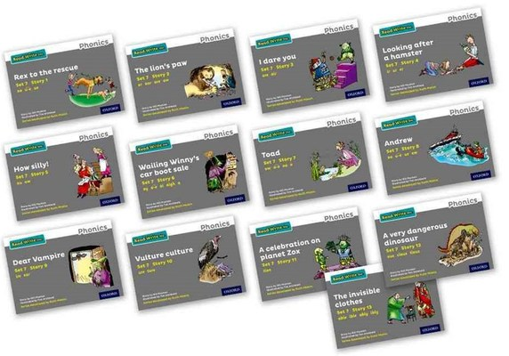 Read Write Inc. Phonics: Grey Set 7 Storybooks Mixed Pack of 13 by Gill Munton
