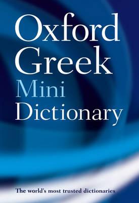 Oxford Greek Mini Dictionary book