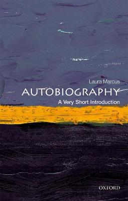 Autobiography: A Very Short Introduction book