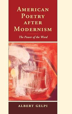 American Poetry after Modernism book