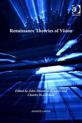 Renaissance Theories of Vision book