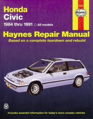 Honda Civic Automotive Repair Manual book
