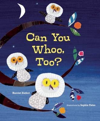 Can You Whoo, Too? book