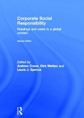 Corporate Social Responsibility by Andrew Crane