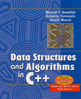Data Structures and Algorithms in C++ by Michael Goodrich