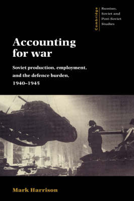 Accounting for War by Mark Harrison