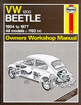 Volkswagen Beetle 1200 1954-77 Owner's Workshop Manual by J. H. Haynes