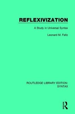 Reflexivization by Leonard M. Faltz
