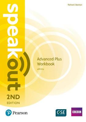 Speakout Advanced Plus 2nd Edition Workbook with Key book