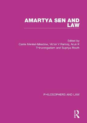 Sen and Law by Carrie Menkel-Meadow