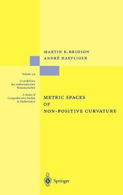 Metric Spaces of Non-Positive Curvature by Martin R. Bridson