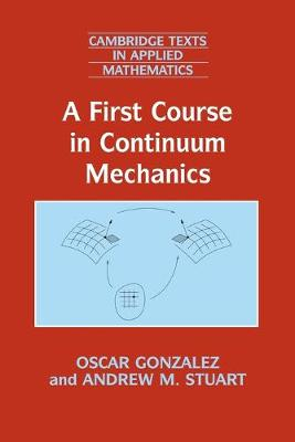First Course in Continuum Mechanics book